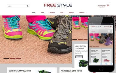 Free Style a Flat Ecommerce Bootstrap Responsive Web Template