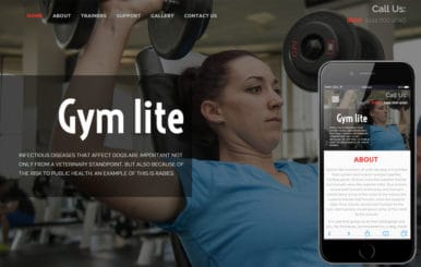 Gym Lite a Sports Category Flat Bootstrap Responsive Web Template