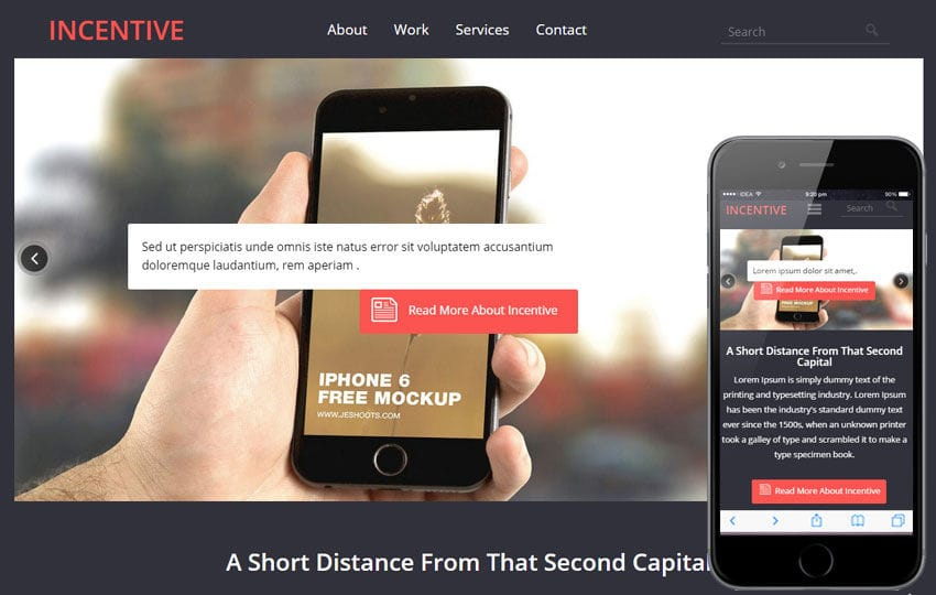 Incentive a Corporate Business Flat Bootstrap Responsive Web Template