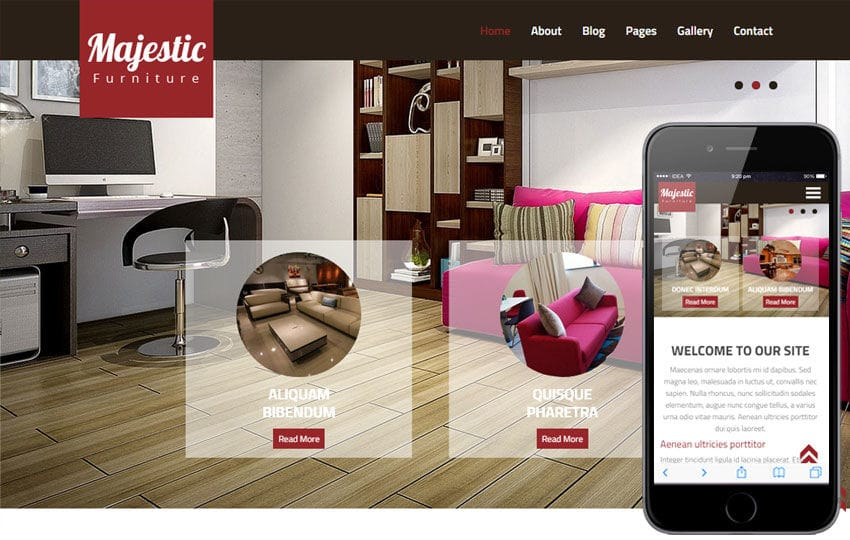 Majestic a Interior Architects Multipurpose Flat Bootstrap Responsive Web Template