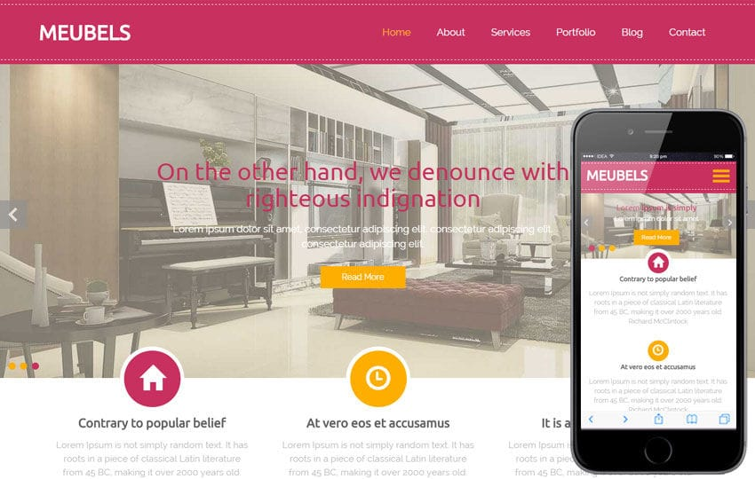 Meubels a Furniture Category Flat Bootstrap Responsive Web Template