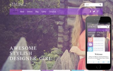 Styling a Fashion Category Flat Bootstrap Responsive Web Template