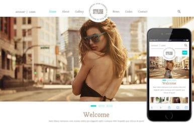 Stylish a Fashion Category Flat Bootstrap Responsive Web Template