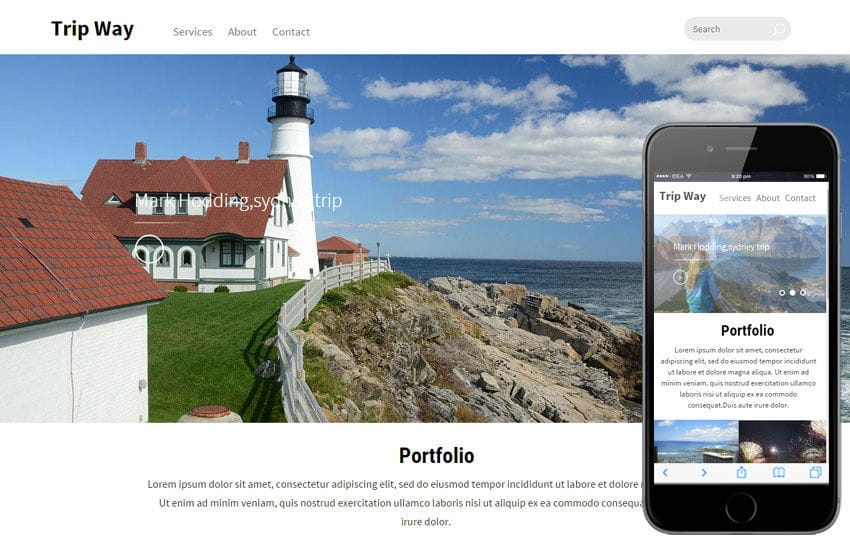Trip Way a Travel Guide Flat Bootstrap Responsive web template