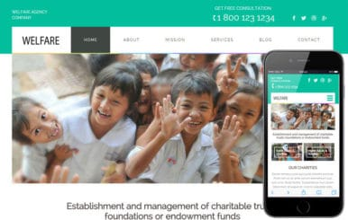Welfare a Charity Category Flat Bootstrap Responsive Web Template