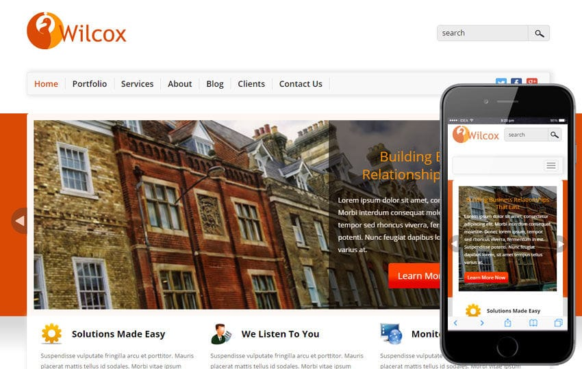 Wilcok a Corporate Business Flat Bootstrap Responsive Web Template