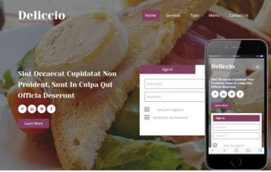 Deliccio a Hotel Category Flat Bootstrap Responsive Web Template