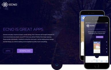 Ecno a landingpage Multipurpose Flat Bootstrap Responsive Web Template