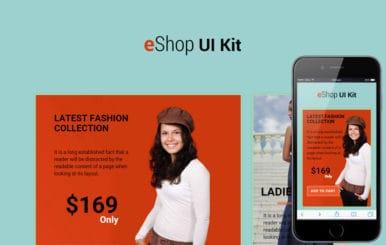 EShop UI Kit a Flat Bootstrap Responsive Web Template