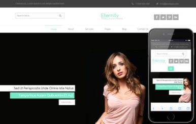 Eternity a Fashion Category Flat Bootstrap Responsive Web Template