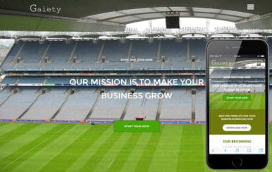 Gaiety a Sports Category Flat Bootstrap Responsive Web Template
