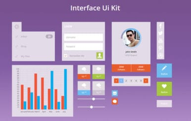 Interface UI Kit a Flat Bootstrap Responsive Web Template