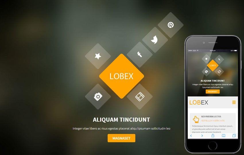 Lobex a Corporate Portfolio Flat Bootstrap Responsive Web Template