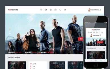 Movie Store a Entertainment Category Flat Bootstrap Responsive Web Template