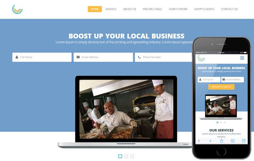 Pie a Corporate Multipurpose Flat Bootstrap Responsive Web Template