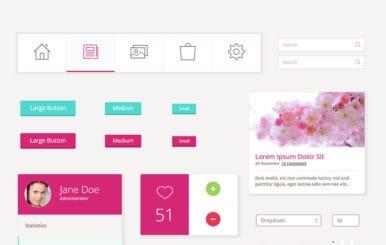 Pretty UI Kit a Flat Bootstrap Responsive Web Template