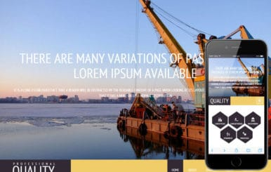 Quality a Industrial Category Flat Bootstrap Responsive Web Template