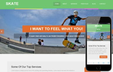 Skate a Sports Category Flat Bootstrap Responsive Web Template