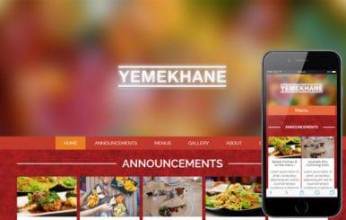 Yemekhane a Food Category Flat Bootstrap Responsive Web Template