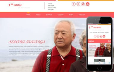 2nd Innings a People and Society Bootstrap Responsive Web Template