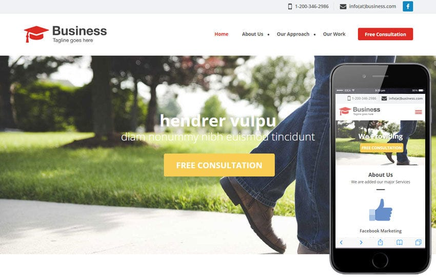 Agency Business a Singlepage Flat Bootstrap Responsive Web Template Mobile website template Free