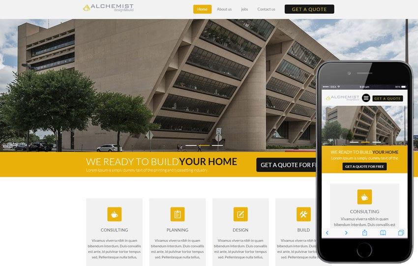 Alchemist a Real Estate Category Flat Bootstrap Responsive Web Template