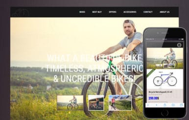 Bicycle Shop a Flat ECommerce Bootstrap Responsive Web Template