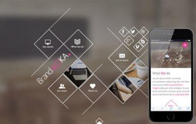 Brandaloka a onepage Multipurpose Flat Bootstrap Responsive web template