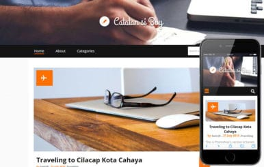 Catatan si Boy a Blogging Category Flat Bootstrap Responsive web template
