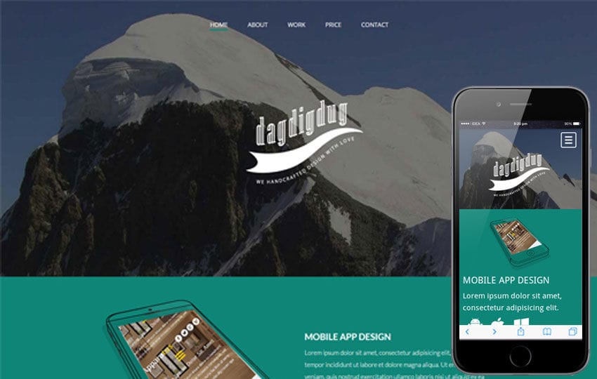 Dagdigdug a landingpage Multipurpose Flat Bootstrap Responsive web template