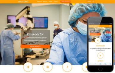 Drug Expo a Medical Category Flat Bootstrap Responsive web template