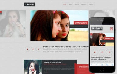 Elegant a Fashion Category Flat Bootstrap Responsive Web Template