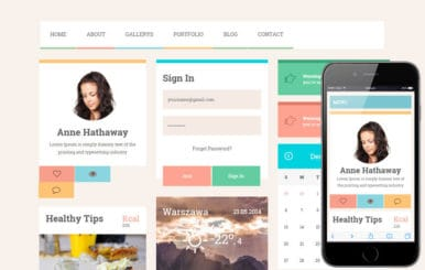 Ero UI KIT Flat Bootstrap Responsive web template