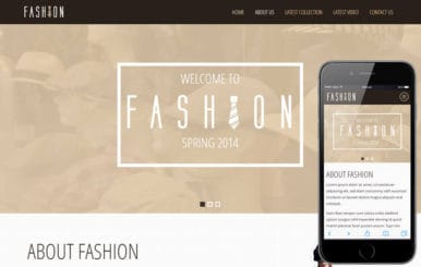 Fashion Spring a Personal Portfolios Flat Bootstrap Responsive Web Template
