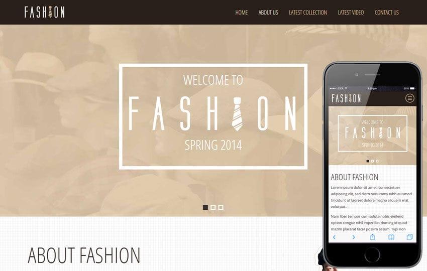 Fashion Spring a Personal Portfolios Flat Bootstrap Responsive Web Template