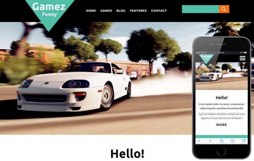 Gamez a Games Category Flat Bootstrap Responsive web template Mobile website template Free