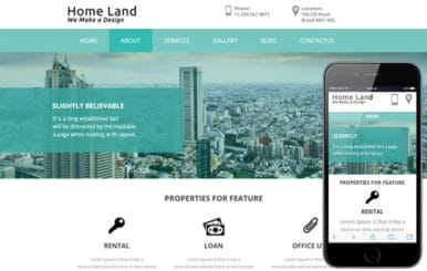 Home Land a Real estate Category Flat Bootstrap Responsive web template