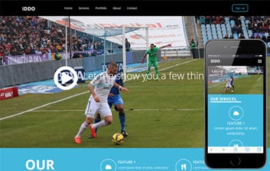 Iddo a Sports Category Flat Bootstrap Responsive web template