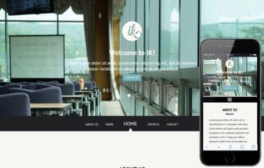Ik a Singlepage Multipurpose Flat Bootstrap Responsive web template