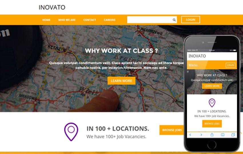 Inovato a Corporate Portfolio Flat Bootstrap Responsive web template
