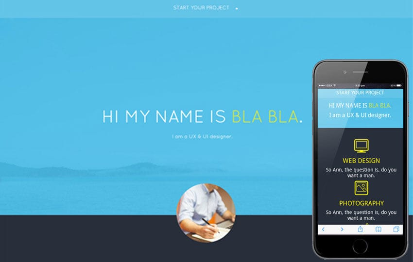Jackie a Singlepage Multipurpose Flat Bootstrap Responsive web template