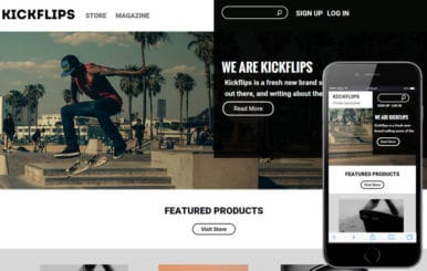 Kick Flips a Sports Category Flat Bootstrap Responsive Web Template