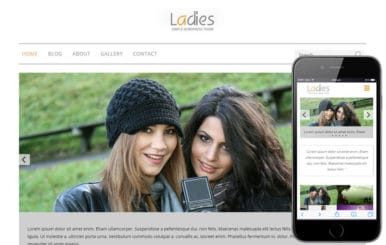 Ladies a Fashion Category Flat Bootstrap Responsive Web Template