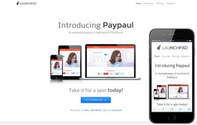 Launchpad Product Service Launch Responsive web Template