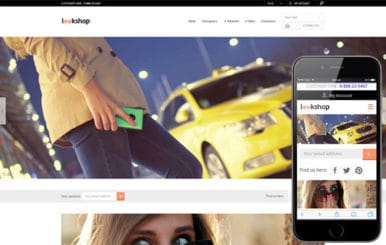 Look Shop a Flat ECommerce Bootstrap Responsive Web Template