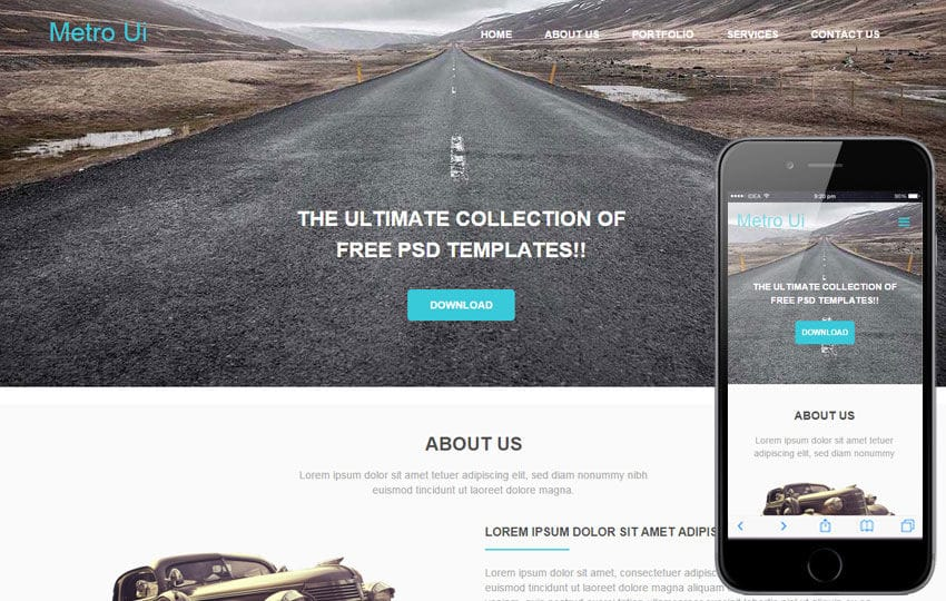 Metro Ui a Corporate Category Flat Bootstrap Responsive Web Template