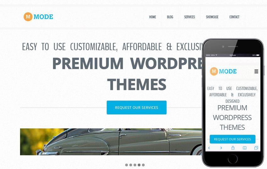 Mode Corporate Flat Responsive web template