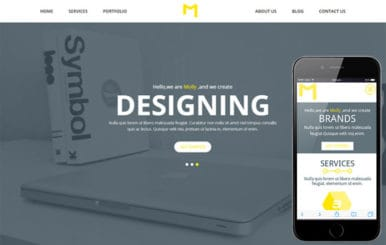 Molly a Singlepage Multipurpose Flat Bootstrap Responsive web template