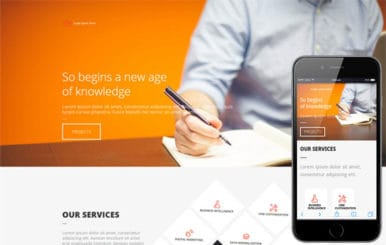 Office a Single Page Multipurpose Flat Bootstrap Responsive web template