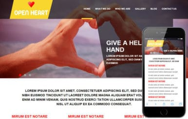 Open Heart a Charity Category Flat Bootstrap Responsive web template